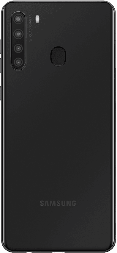 Samsung Galaxy A21 Black Back