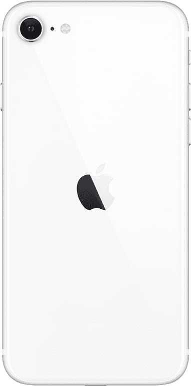 Apple iPhone SE White Back